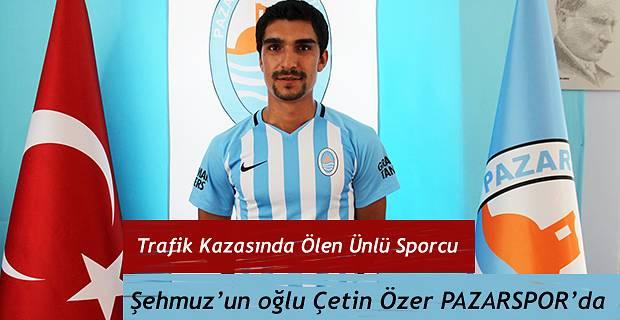 Çetin Özer ile iki yıllık sözleşme imzaladı.