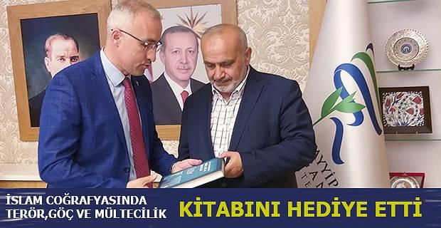 ESKİ MİLLETVEKİLİ YILMAZ'DAN REKTÖR KARAMAN'A ZİYARET