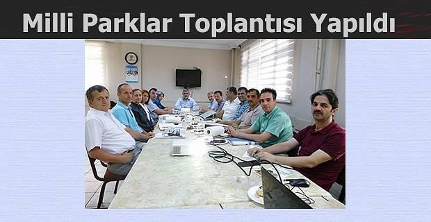 MİLLİ PARKLAR TOPLANTISI YAPILDI