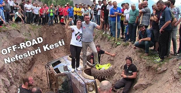 OFFROAD OYUNLARI NEFES KESTİ