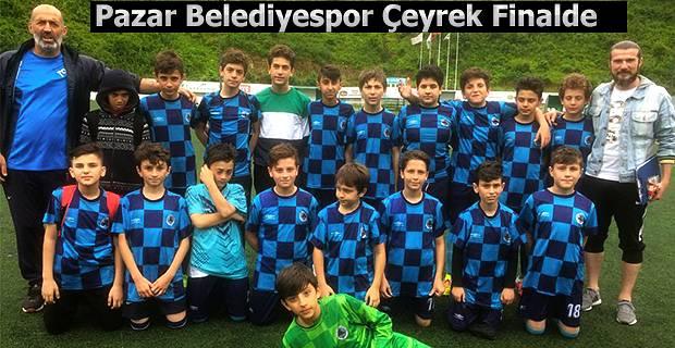 Pazar Belediyespor Çeyrek Finalde
