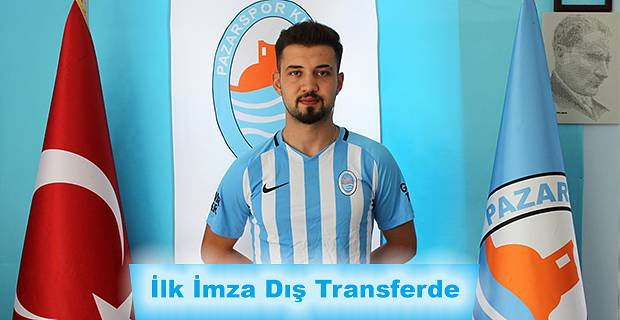 Pazarspor 2019-2020 sezonunun ilk dış transfer imzasını attırdı.