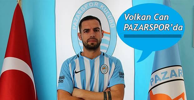 Pazarspor Dış Transferde Volkan ile anlaştı