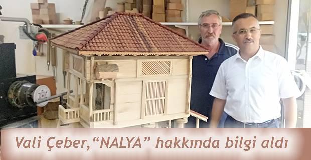 Rize Valisi Kemal Çeber,Geleneksel El Sanatları Ustası Şahin Çolak'ı ziyaret etti.