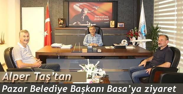Alper TAŞ'tan Başkan Basa 'ya ziyaret
