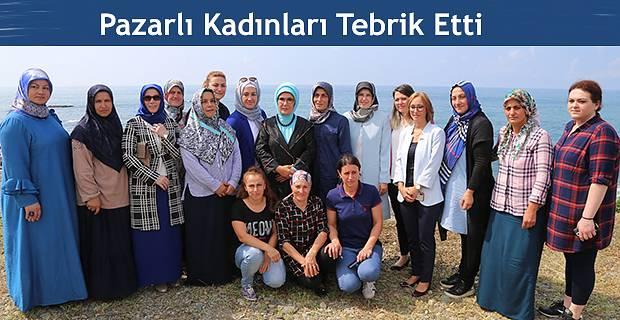 Balık Ağı Donamı ve Tamiri Yapan Kadınları Ziyaret Etti