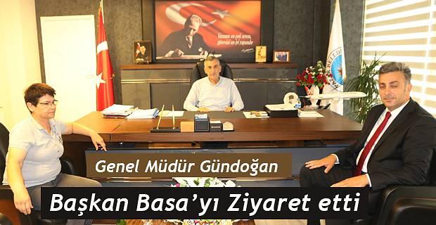 Genel Müdür Gündoğan'dan Başkan Basa'ya ziyaret