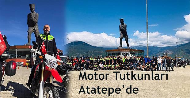 Motor Tutkunları Atatepe'ye Çıktılar