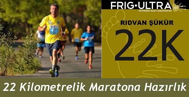 Rıdvan Şükür, Afyon'da düzenlenen Frig Ultra Maratonunda koşacak