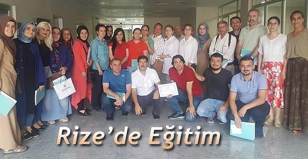 """Rize'de """"Anne Sütü ve Emzirme Danışmanlığı'' Eğitimi Düzenlendi"""