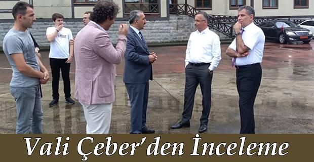 Vali Kemal Çeber,İncelemelerde Bulundu