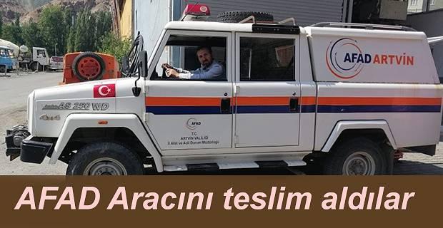 ARAMA KURTARMA ARACI YUSUFELİ'NE GELDİ