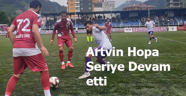 ARTVİN HOPASPOR TOKATSPORU TOKATLADI 2-1