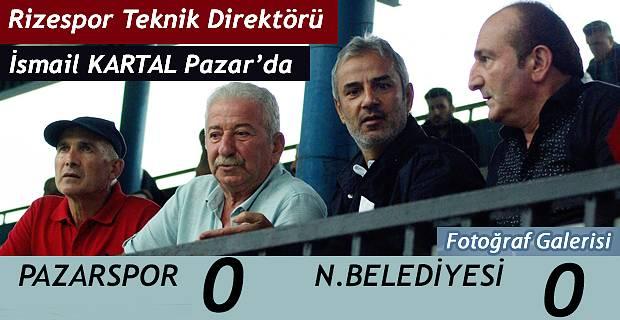 Pazarspor Nevşehir Belediyesi 0-0