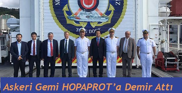 TCSG DOST HOPAPORT'A DEMİR ATTI