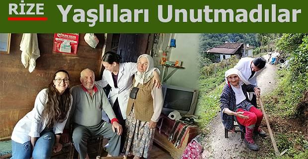 1 Ekim Dünya Yaşlılar Gününde anlamlı ziyaret