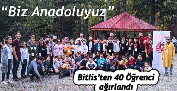 """BİZ ANADOLUYUZ "" GEZİSİ SONA ERDİ"