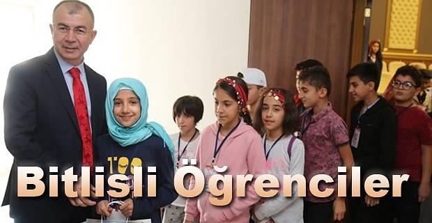 Biz Anadolu'yuz Projesi kapsamında Bitlis'li 40 öğrenci Artvin'e geldi.