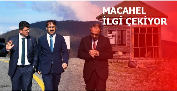 MACAHEL'E ZİYARETLER DEVAM EDİYOR