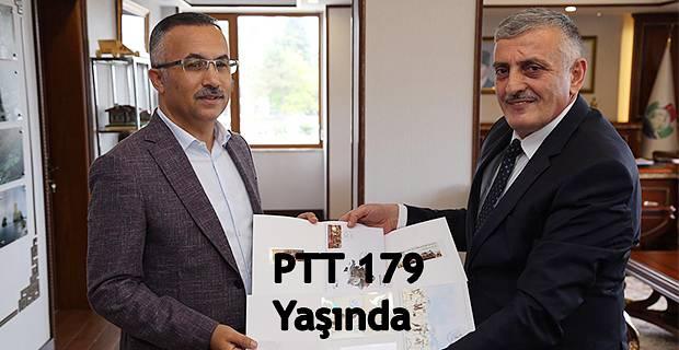 PTT'nin 179. Kuruluş Yıldönümünde Vali Kemal Çeber'e Ziyaret