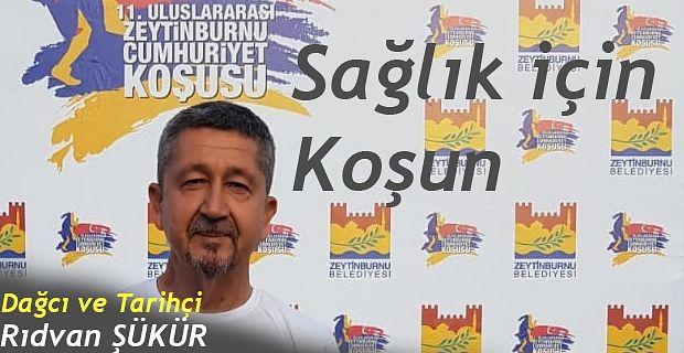 Rıdvan Şükür, Zeytinburnu'nda koştu