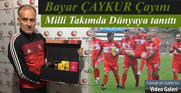 Rize-Pazarlı Milli Futbolcu BAYAR Omuzlarda sahayı terk etti.