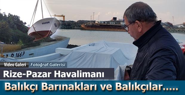 Rize'de Balıkçı Tekne Sahiplerinden çağrı