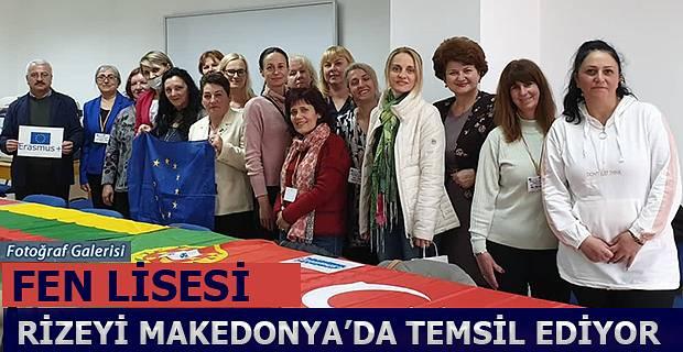 Rizeyi Makedonya'da Başarı ile temsil ediyorlar