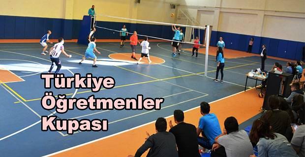 """""""TÜRKİYE ÖĞRETMENLER KUPASI"""" HEYECANI DEVAM EDİYOR"""
