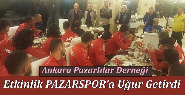 Ankara Pazarlılar Derneği Pazar kahvaltısında Pazarlılar ile buluştu.