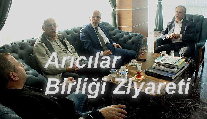 ARTVİN ARICILAR BİRLİĞİN'DEN HOPA TSO'YA ZİYARET