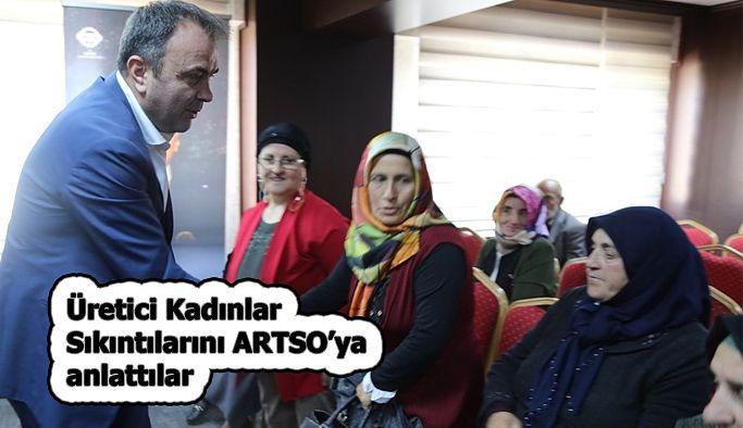 ARTVİN'İN ÜRETİCİ KADINLARINDAN ARTSO'YA ZİYARET