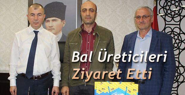 BAL ÜRETİCİLERİNDEN VALİ DORUK'A ZİYARET