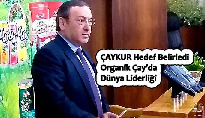 """Genel Müdür Vekili Yusuf Ziya ALİM,  """"ORGANİK ÇAYLARIMIZA TALEPTE BÜYÜK ARTIŞ"""""""