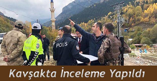 KAYMAKAMI'NDAN ÇEVRE YOLU KAVŞAK PROJESİNE YERİNDE İNCELEME