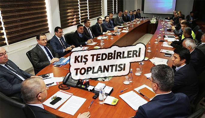 KIŞ TEDBİRLERİ TOPLANTISI YAPILDI