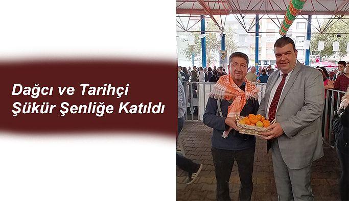 Rıdvan Şükür, 20. Seferihisar Mandalina şenliğine katıldı