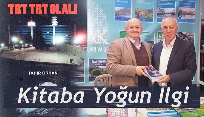 """RİZELİ YAZARIN """"TRT TRT OLALI"""" KİTABINA YOĞUN İLGİ"""