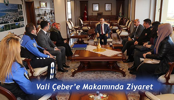 """""""Geleceğimiz Emniyette"""" Kursiyerlerinden Ziyaret"""