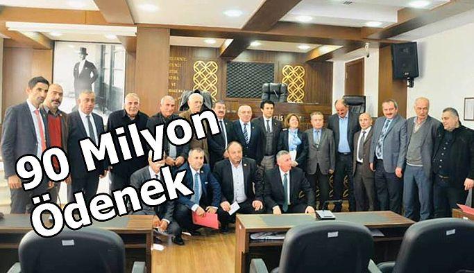 İL ÖZEL İDARESİNE 90 MİLYON TL BÜTÇE