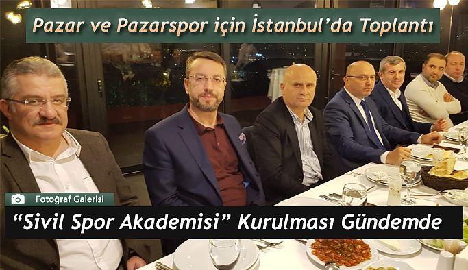 İstanbul'da PAZARSPOR Toplantısı