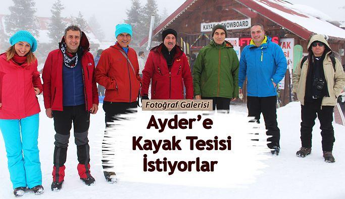 Kayak severler Ayder Kayak Merkezi`nin faaliyete geçmesini istiyorlar