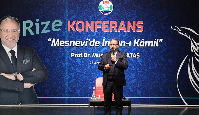 """Mevlana """"Mesnevi'de İnsan-ı Kamil"""" Konferansı ile Anıldı"""