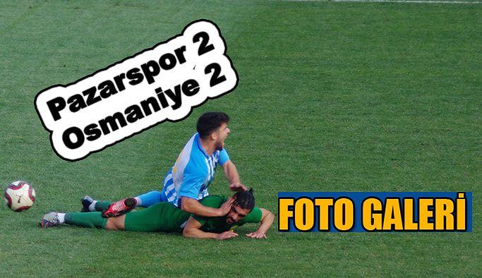 Pazarspor 2-Osmaniye 2