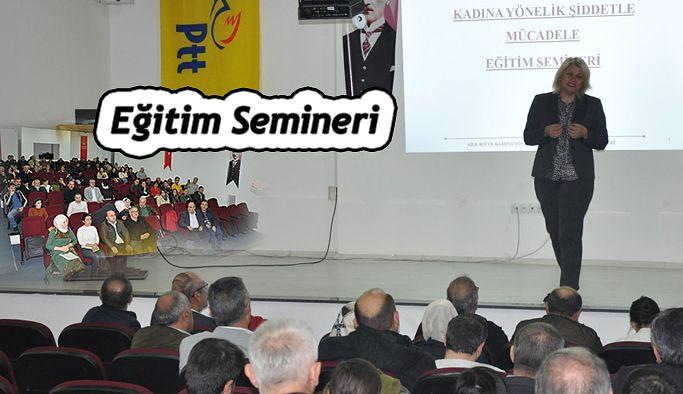 PTT'DE SEMİNER
