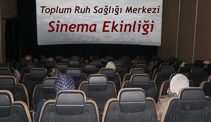 Rize Toplum Ruh Sağlığı Merkezi hastalarına sinema etkinliği