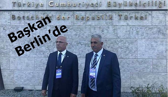 TÜRK-ALMAN TSO KONGRESİ BERLİN'DE YAPILDI