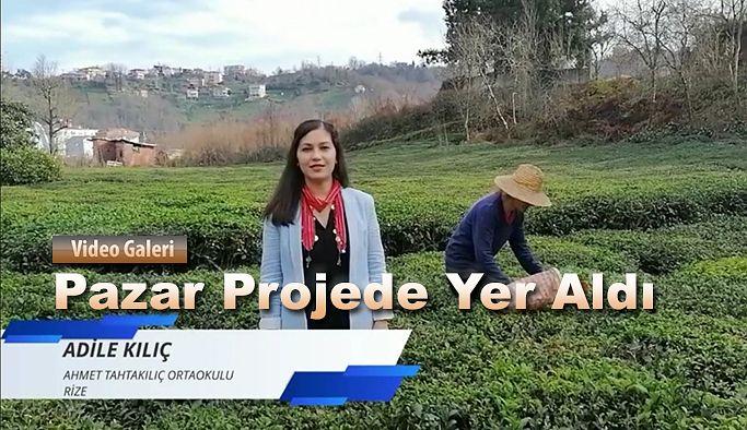 """Ahmet Tahtakılıç Ortaokulu """"Harften Öte Kadın"""" projesinde"""