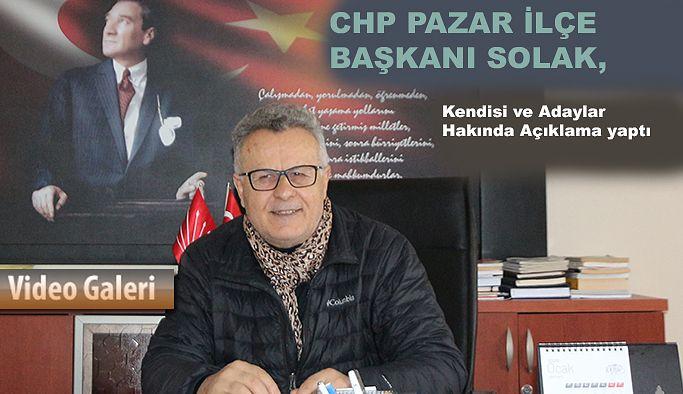 Pazar CHP'de İlçe Başkanlığı Heyecanı