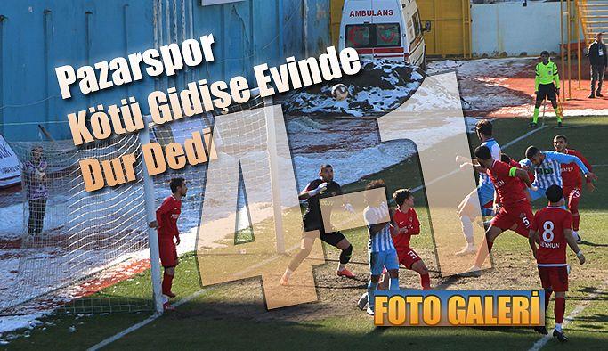 Pazarspor 4-1 Galip Geldi